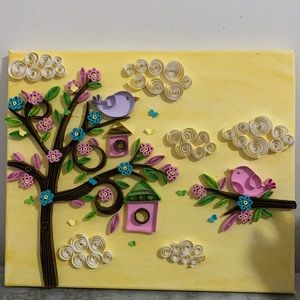Quilling are craft